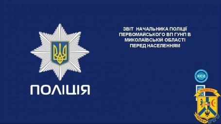 Звіт начальника поліції