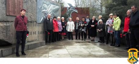Відзначення Міжнародного дня визволення в'язнів нацистських концтаборів