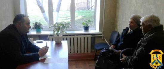Черговий виїзний прийом громадян першим заступником Первомайського міського голови