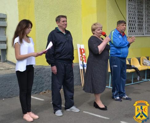 На центральному стадіоні міста відбулась традиційна спартакіада студентів та викладачів