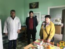 Відвідали Первомайське відділення Миколаївського обласного шпиталю ветеранів війни