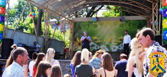 Святкування Дня захисту дітей в місті Первомайську