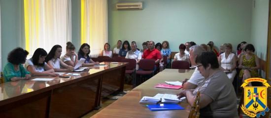 Апаратне навчання працівників виконавчих органів Первомайської міської ради.