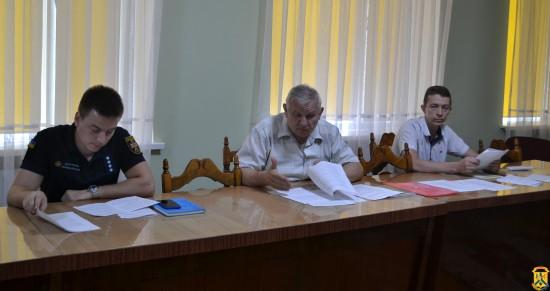 Засідання комісій по захисним спорудам цивільного захисту м. Первомайська
