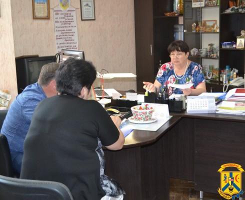 Засідання комісії по розгляду звернень громадян щодо надання матеріальної допомоги