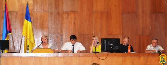Засідання чергової 87 сесії Первомайської міської ради сьомого скликання