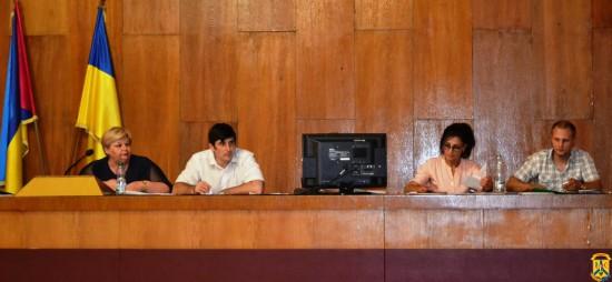 Пленарне засідання чергової 88 сесії Первомайської міської ради