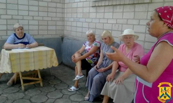 Міський голова Л.Дромашко провела черговий виїзний особистий прийом громадян