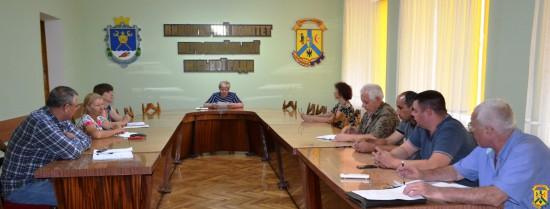 Л.Г. Дромашко провела нараду з керівниками підприємств житлово-комунальних господарств
