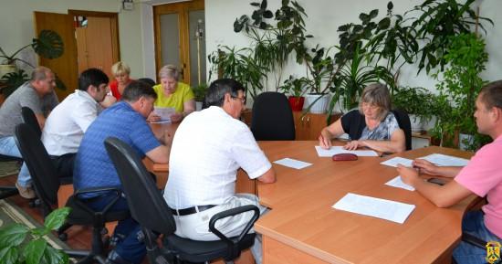 Засідання постійної комісії міської ради