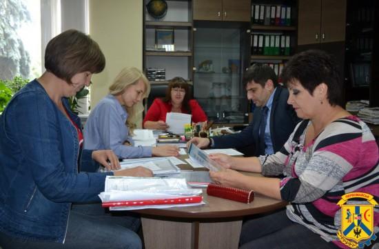 Засідання конкурсної комісії з визначення переможців міського конкурсу «Чисте місто»