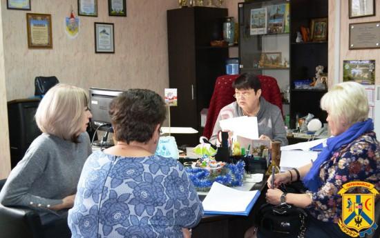 Засідання комісії з розгляду звернень громадян міста щодо надання матеріальної допомоги