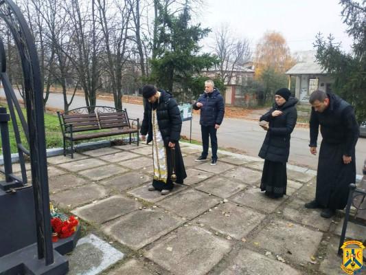 Вшанували пам'ять жертв Голодомору