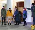 На площі Т.Г.Шевченка первомайці святкували День Святого Валентина