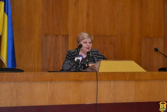 Міський голова провела прес-конференцію для місцевих ЗМІ