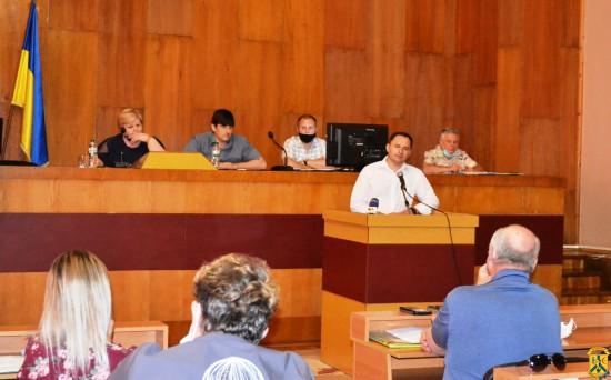 Пленарне засідання чергової сесії Первомайської міської ради
