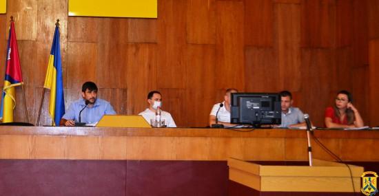 Пленарне засідання чергової 106 сесії Первомайської міської ради