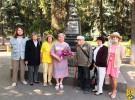 Відбулась церемонія покладання квітів до Братської могили воїнів-визволителів та підпільників, які діяли на території Первомайщини в роки Другої світової війни