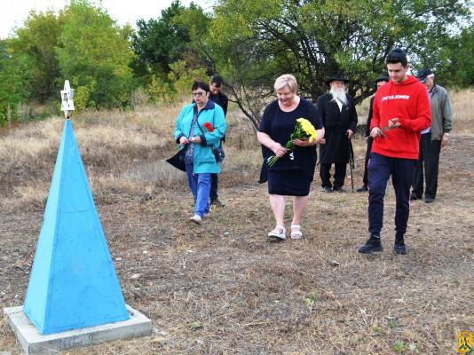 Вшанування пам'яті жертв Бабиного Яру