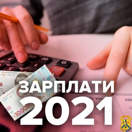 З 1 січня 2021 року підвищується мінімальна заробітна плата