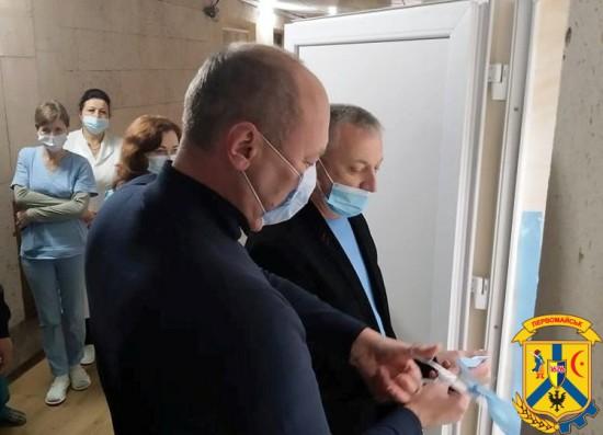 Відкриття новоствореного відділення нефрології та гемодіалізу