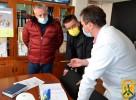 Міський голова та секретар міської ради з робочим візитом відвідали КНП «Первомайська центральна районна лікарня»