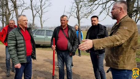 Акція з озеленення Первомайської міської територіальної громади
