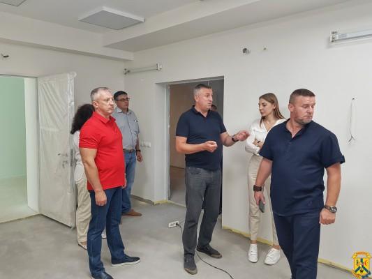 """Хід виконання робіт по реконструкції КП """"ПЦМБЛ"""""""