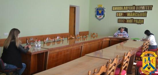 8 вересня2021 рокуміський голова провів особистий прийом громадян